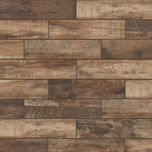 Florida Tile Wind River Beige 6 in. x 24 in. Porcelain Floor and Wall Tile