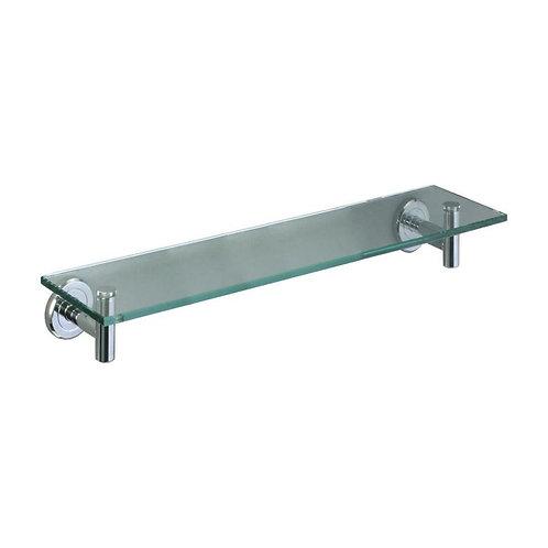 Gatco Latitude Chrome Glass Bathroom Shelf