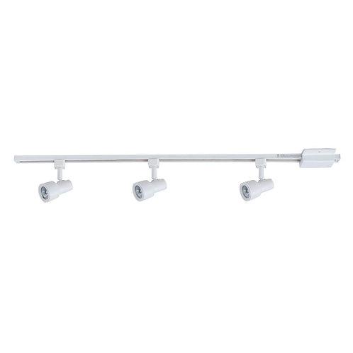 Hampton Bay Mini-Step 44 in. 3-Light White Linear Track Lighting Kit
