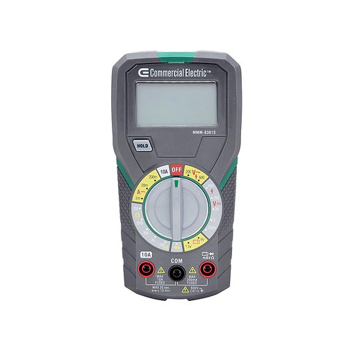 CE Manual Ranging Multimeter