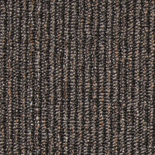 EuroTile Central Park Charcoal Loop 19.7 in. x 19.7 in. Carpet Tile