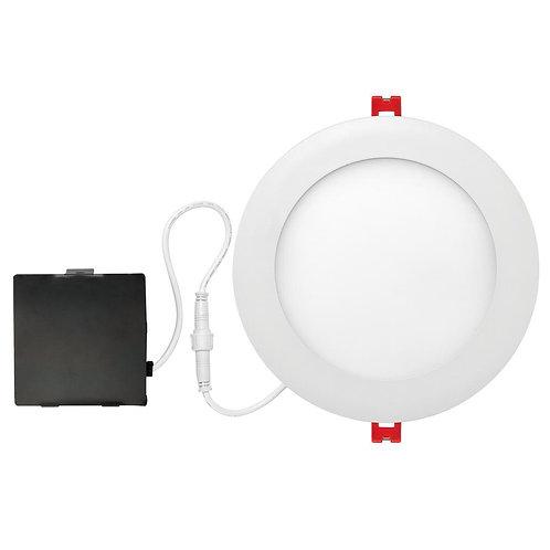 Globe Electric Designer Ultra Slim 6 in. White Integrated LED Recessed Kit