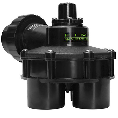 FIMCO 1-1/2 in. 10 psi 4 Outlet Indexing Valve with 2, 3 and 4 Zone Cams