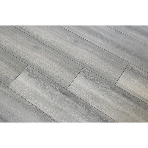 HDC Disher Oak 8mm Thick x 8.03 in. Wide x 47.64 in. Length Laminate Flooring