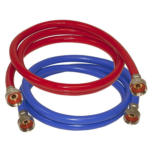 EASTMAN 2-Pack 6-ft L 3/4-in Hose Thread Inlet x 3/4-in Hose Thread Outlet PVC W