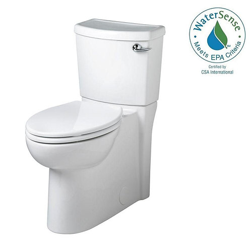 Cadet 3 FloWise Tall Height 2-piece 1.28 GPF Elongated Toilet with Seat and Conc