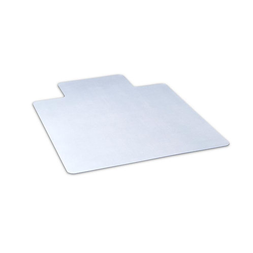 Dimex 45 in. x 53 in. Clear Office Chair Mat with Lip for Hard Floors, BPA and P