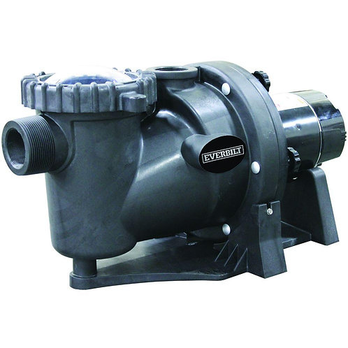 Everbilt 1.5 HP 230/115-Volt In-Ground Pool Pump with Protector Technology