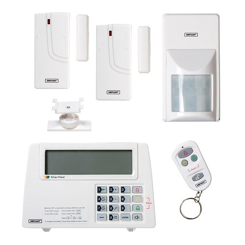 DEFIANT Home Security Wireless Home Protection Alarm Systemefiant