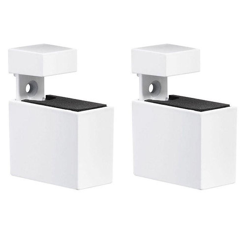 Dolle Cuadro 3/16 in. - 3/4 in. Adjustable Shelf Support in White