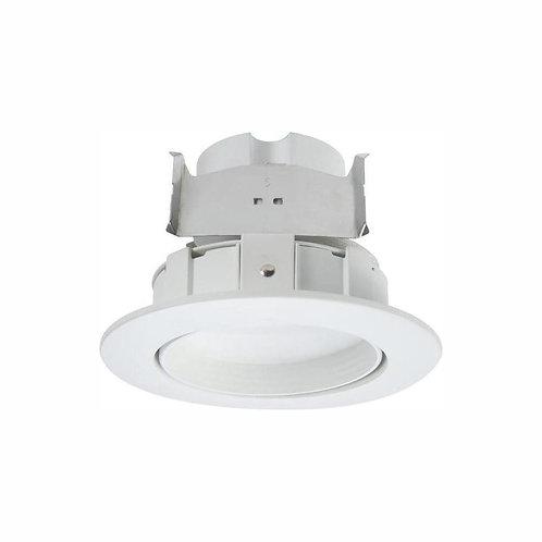 Halo RA 4 in. White Integrated LED Recessed Light Adjustable Gimbal Retrofit Tri