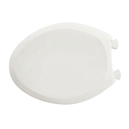 American Standard Champion Slow Close Elongated Closed Front Toilet Seat in Whit