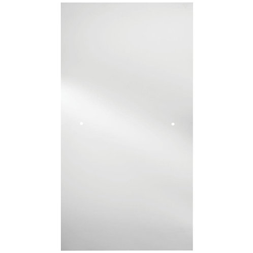 Delta 36 in. Semi-Frameless Contemporary Pivot Shower Door Glass Panel in Clear