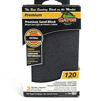 Gator drywall sand block 120 (2 pack)