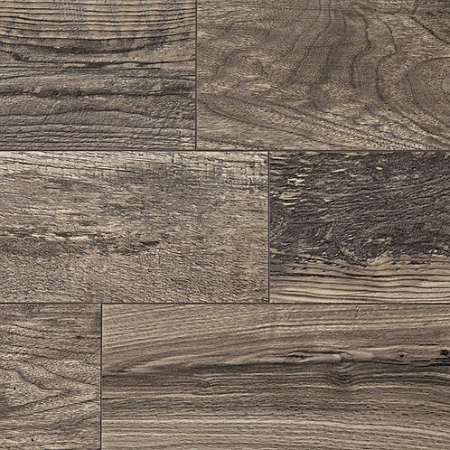 HDC Cinder Wood Fusion 12 mm Thick x 6-1/8 in. Wide x 50-4/5 in. Length Laminate