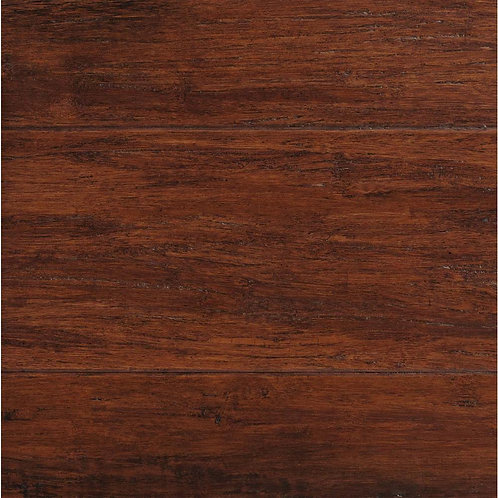 HDC Hand Scraped Strand Woven Brown 3/8 in. T x 5-1/8 in. W x 36 in. L Engineere