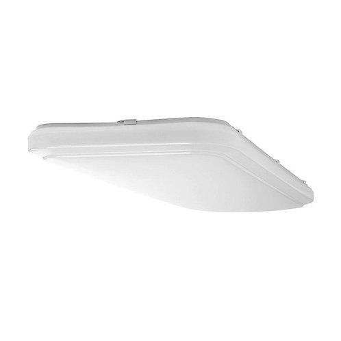 4 ft. x 1.5 ft. White LED Rectangular Ceiling Flushmount