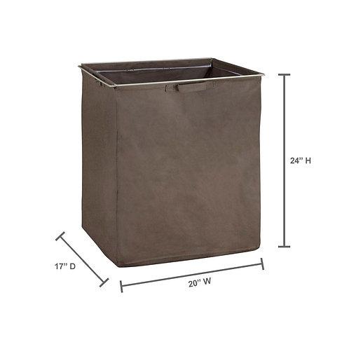 ClosetMaid ShelfTrack Canteen Fabric Hamper with Frame