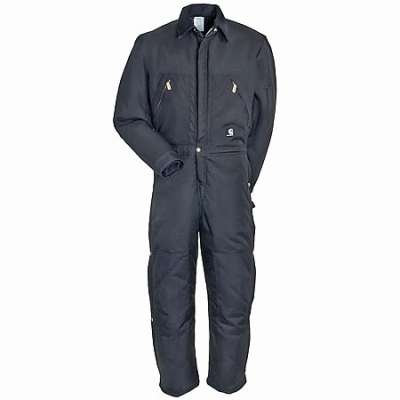 Carhartt Coveralls: Yukon Men's Black X06 Arctic Extremes Quilt Lined Coveralls