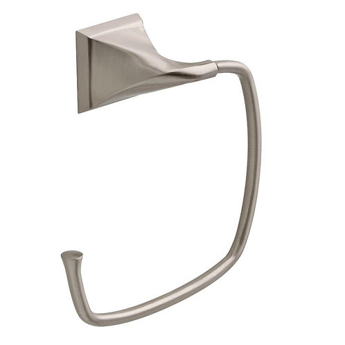 Delta Everly Towel Ring in SpotShield Brushed Nickel