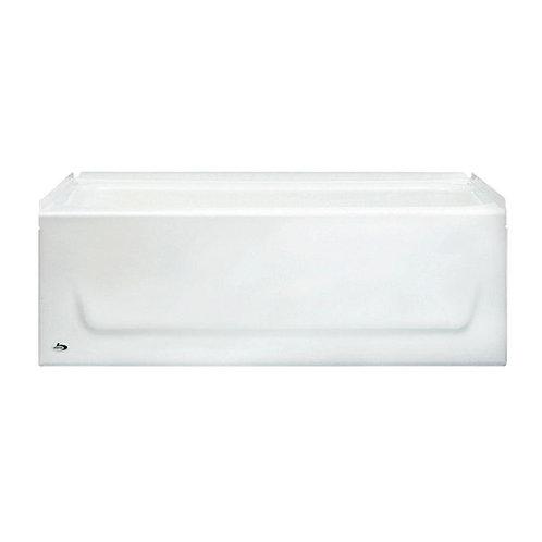 Bootz Industries Kona 4-1/2 ft. Right Hand Drain Soaking Tub in White