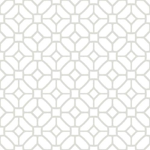 FloorPops Lattice Peel and Stick Floor Tiles 12 in. x 12 in.