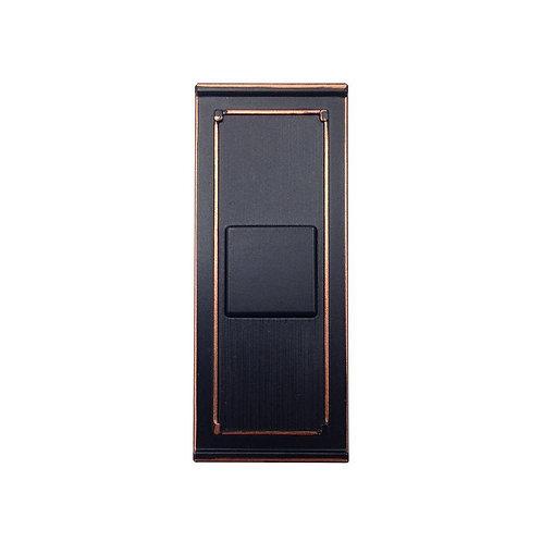 HB Wireless Door Bell Push Button, Mediterranean Bronze