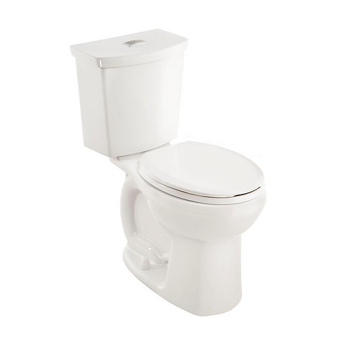 Cadet 3 Tall Height Complete 2-piece 1.0 GPF Dual Flush Round Toilet in White