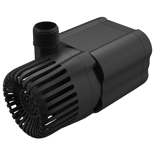 Creating a waterfall can be as easy as 1, 2, 3 when you use this pump with an 8-