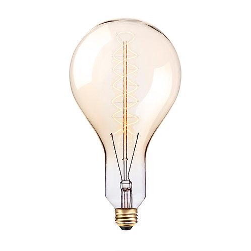 GLOBE Vintage Oversized Light Bulb, PS42, 100-Watts