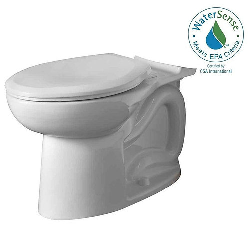 American Standard Cadet 3 FloWise Tall Height Elongated Toilet Bowl Only in Whit