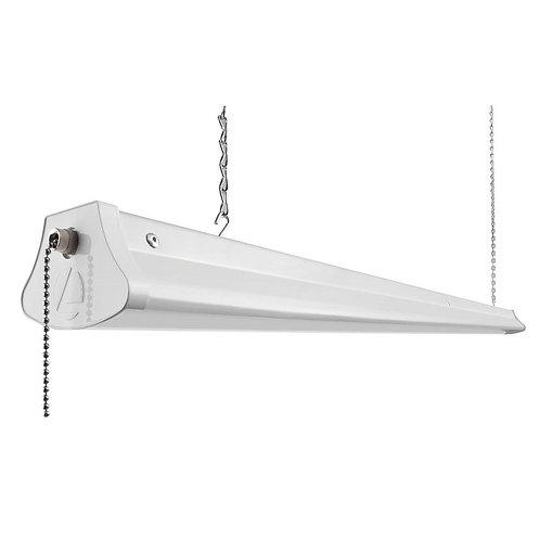 25-Watt White LED Chain-Mount Shoplight