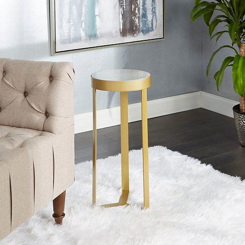 Butler Gold Accent Table