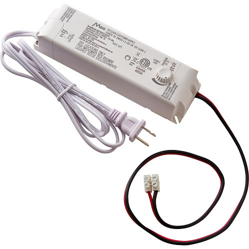 CE 60-Watt 12-Volt LED Lighting Power Supply with Dimmer