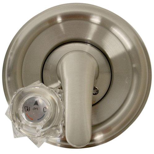 DANCO Single-Handle Valve Trim Kit for Delta Tub/Shower in Brushed Nickel (Valve