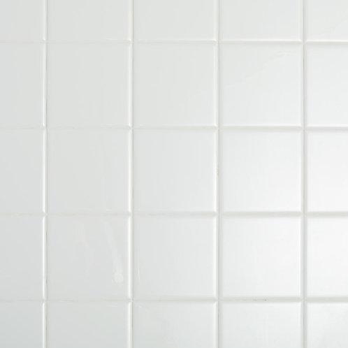 Datile Restore Bright White 4-1/4 in. x 4-1/4 in. Ceramic Wall Tile