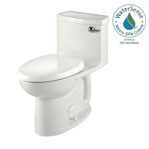 Compact Cadet 3 FloWise Tall Height 1-piece 1.28 GPF Single Flush Elongated Toil