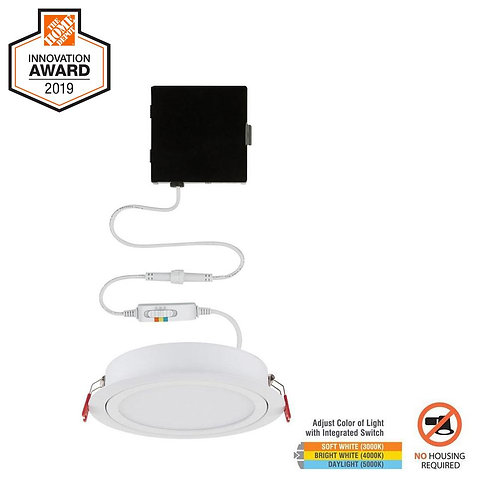 Commercial Electric Slim Directional 6in. Selectable New Construction / Remodel