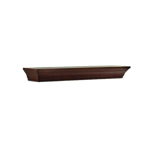 HDC 36 in. W x 36 in. L Chestnut Decorative Beveled Shelf