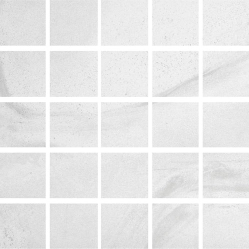 Florida Tile Home Collection Stonewall White 12 in. x 12 in. x 9mm Porcelain Mes