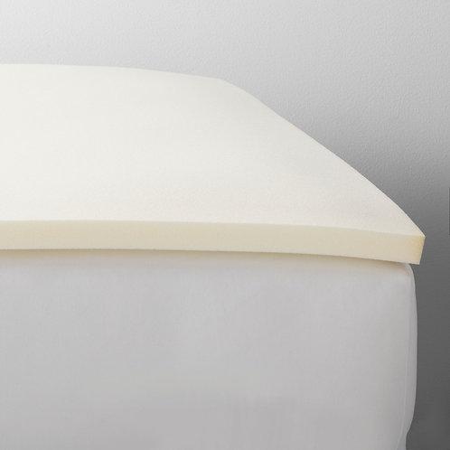 1.5 Foam Mattress Topper (Queen) White - Made by Design, Beige