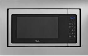 Built-In Microwave Trim Kit 27 in. Black