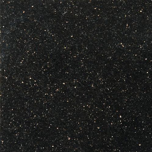 Emser Granite Galaxy Black Polished 12.01 in. x 12.01 in. Granite Floor and Wall