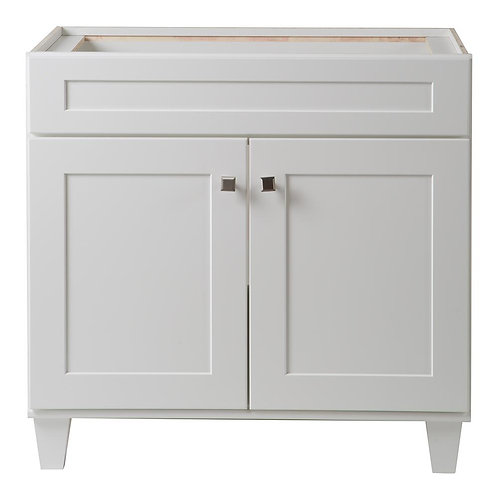 Creeley 36 in. Vanity Cabinet in Classic White