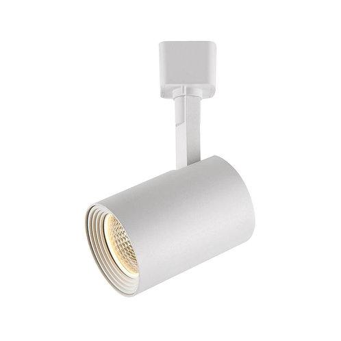 Hampton Bay 1-Light White Dimmable LED Cylinder Track Lighting Kit