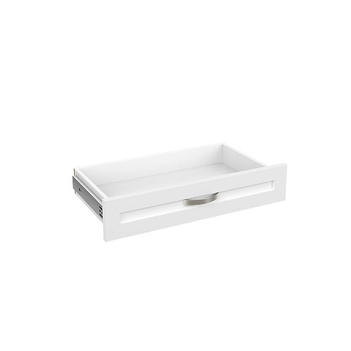ClosetMaid Style+ 5 in H x 25 in. W White Melamine Shaker Drawer Kit for 25 in.