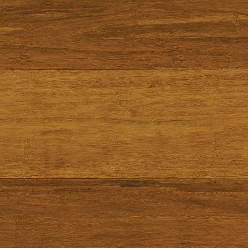HDS Strand Woven Harvest 3/8 in. T x 4.92 in. W x 36-1/4 in. L Solid Bamboo Floo