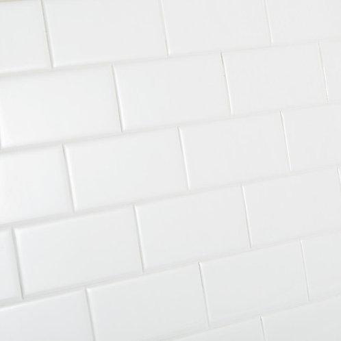 Daltile Restore Bright White Ceramic Modular Wall Tile