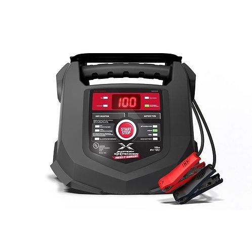 Battery Extender 6-Volt or 12-Volt, 15 Amp Battery Charger/Maintainer