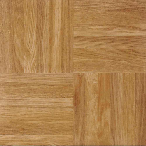 Achim Sterling Oak 12 in. x 12 in. Peel and Stick Square Parquet Vinyl Tile
